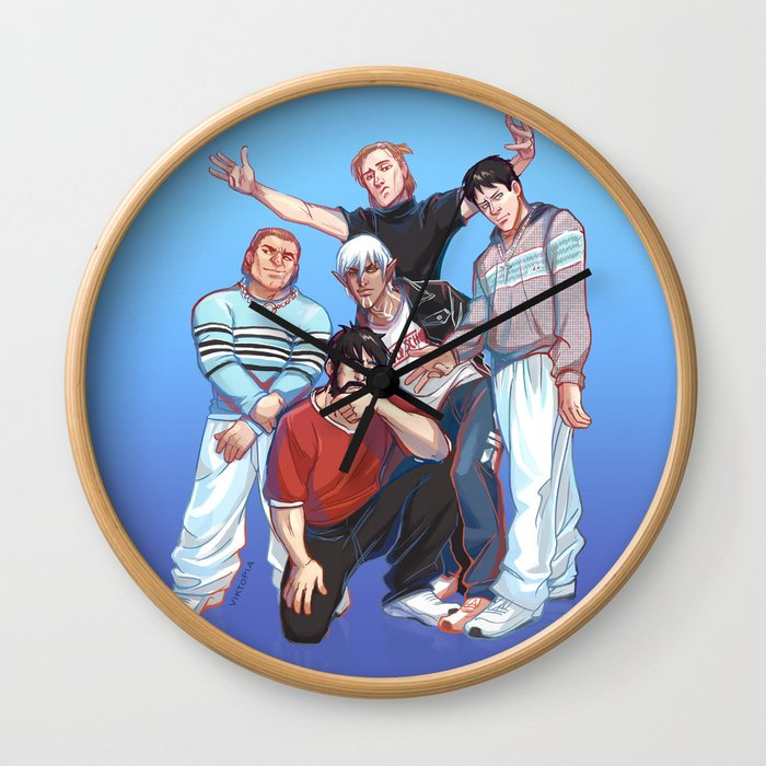 Kirkwall Boys Wall Clock