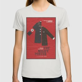The Night Porter, movie poster, Liliana Cavani, Charlotte Rampling, Dirk Bogarde T-shirt