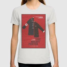 The Night Porter, movie poster, Liliana Cavani, Charlotte Rampling, Dirk Bogarde T-shirt