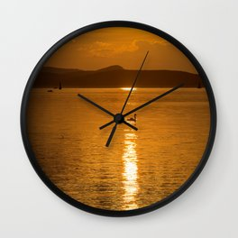 Lake Balaton, Hungary Wall Clock
