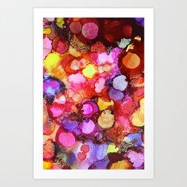 Vibrance 2 Art Print