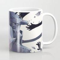 fullmetal Mugs featuring FMA Ed & Al by x3uu