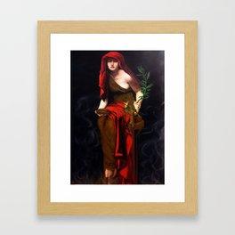 Copy of Priestess of Delphi - John Collier Framed Art Print