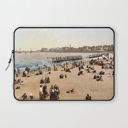 The harbour, Margate, Kent, England, ca. 1897 Laptop Sleeve