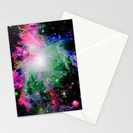 Orion Nebula Black Pyschedelic Stationery Cards