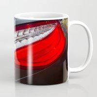 mercedes Mugs featuring Mercedes-Benz SL 63 AMG Bi-Turbo Back Light by Mauricio Santana