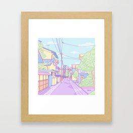 Lost in Japan Framed Art Print