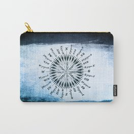 Windrose blue version Carry-All Pouch