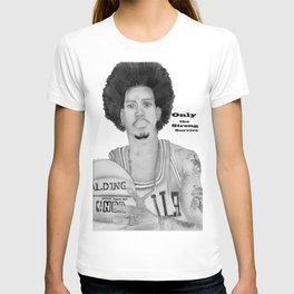 Allen Iverson Rookie Year Portrait T-shirt