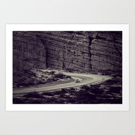 Road-trip inside of a giant - Fine Arts Travel Photography Art Print