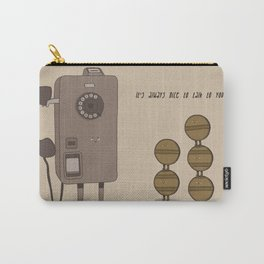 Long Talking Tokens Carry-All Pouch