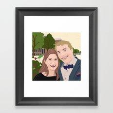 Yasemin Framed Art Print