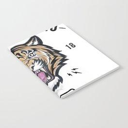 DUPLICI PROELIO Tiger by leo Tezcucano Notebook