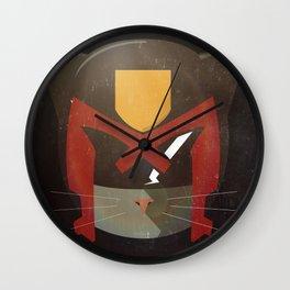 Judge Mewh Wall Clock