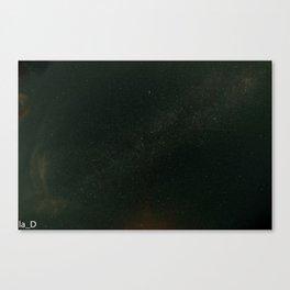 un mare di stelle Canvas Print