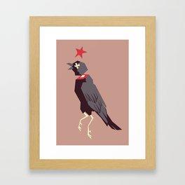 Naakka Framed Art Print