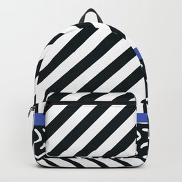 Memphis pattern 89 Backpack