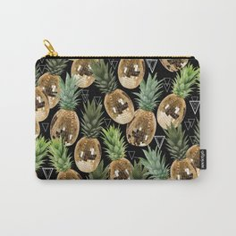 Disco pineapple midnight Carry-All Pouch