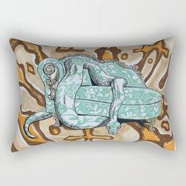 Couch Snake Rectangular Pillow