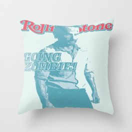 The Walking Dead Rolling Stone (Rick Grimes) Throw Pillow