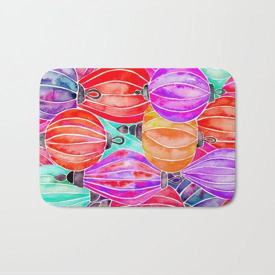 Vietnamese Lanters – Tertiary Palette Bath Mat