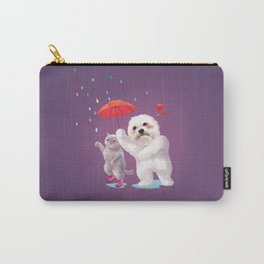 Fall in Love with Rain Carry-All Pouch