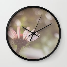 Coneflower Magic Wall Clock