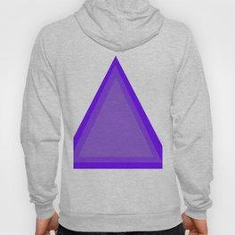 Triangles: Purple on Purple Hoody