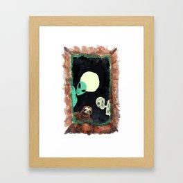 Grave Squad Framed Art Print