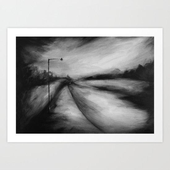 In Search of Fear Art Print