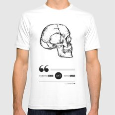Dead or alive Mens Fitted Tee White MEDIUM