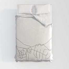 Pinky Swear Comforters