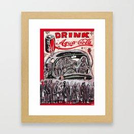 HURRICANE for Mad Max Fury Draw Framed Art Print