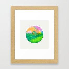 Casual Landscape VIII Framed Art Print
