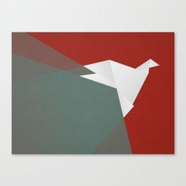 Paper Dove Canvas Print