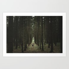The Woods of St Olof Art Print