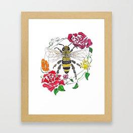 Honey (color) Framed Art Print