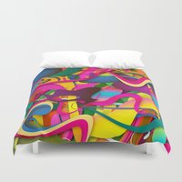 yetiland Duvet Covers featuring So Gorgeous (Feat. Roberlan Borges) by Danny Ivan