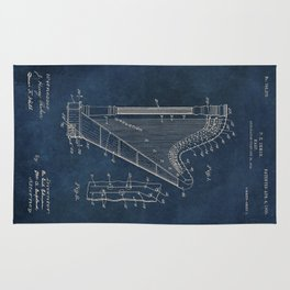 Ekman  Harp  patent art Rug