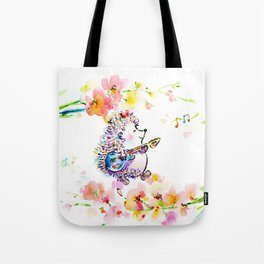Creating My Own Life Music Tote Bag