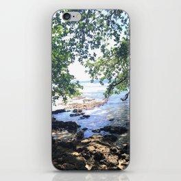 Jungle Beach in Puerto Viejo iPhone Skin