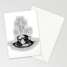 Long Lost Coffee Stationery Cards