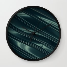 Dark Metal Wall Clock