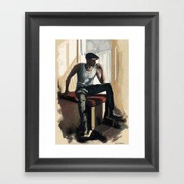 Gustaf Framed Art Print