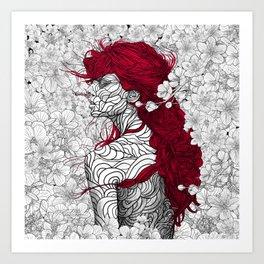 The Sacred Shade Art Print