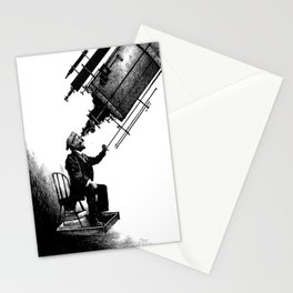 Who's Looking at Who? Stationery Cards