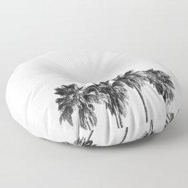 Palm trees 3 Floor Pillow