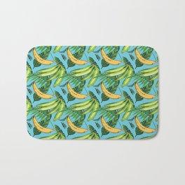 Plantain Paradise Pattern - For true plantain fans Bath Mat