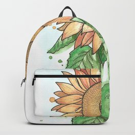 Cheerful Sunflower Backpack