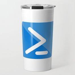 Powershell Logo Travel Mug